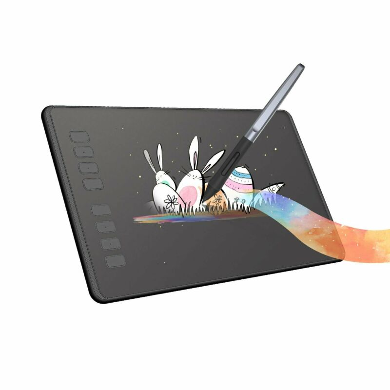 """Huion H950P Graphics Drawing Tablet Battery-free Pen 8192 Pressure 8.7""""x5.4"""""""
