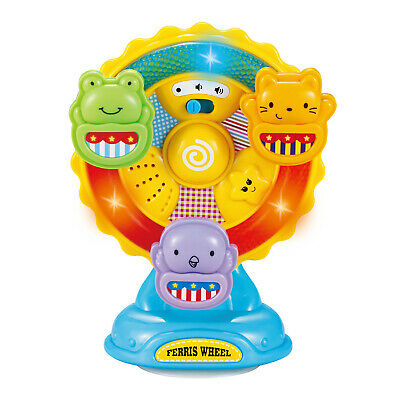 infunbebe Animal Ferris Wheel Spinning Wheel Toy with Music and Lights for -