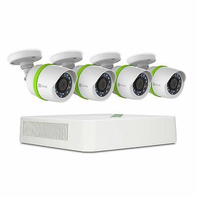 EZVIZ Full HD 1080p, 4 Cameras, 4 channels, 1TB Outdoor Surveillance System