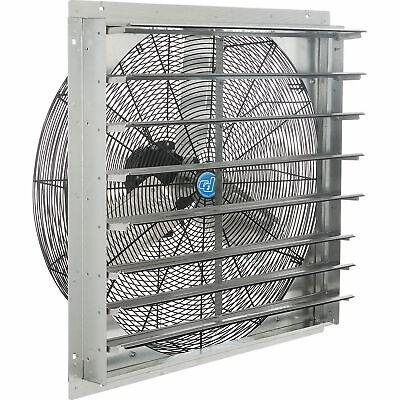 30 Exhaust Ventilation Fan With Shutter Single Speed