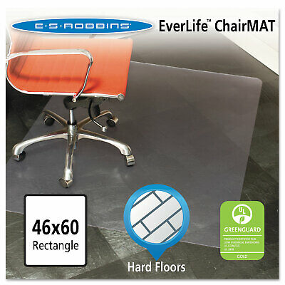 Es Robbins 46x60 Rectangle Chair Mat Multi-task Series For Hard Floors Heavier