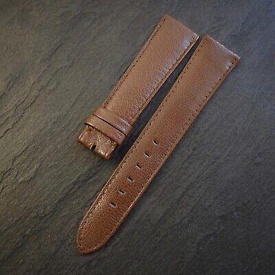 ROLEX Vintage 60's 20mm Taper to 16mm 20/16 Brown Original ROLEX OF GENEVA Swiss