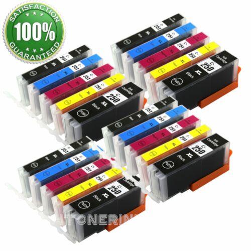 PGI-250XL CLI-251XL Ink Cartridges for Canon PIXMA MG5620 MG