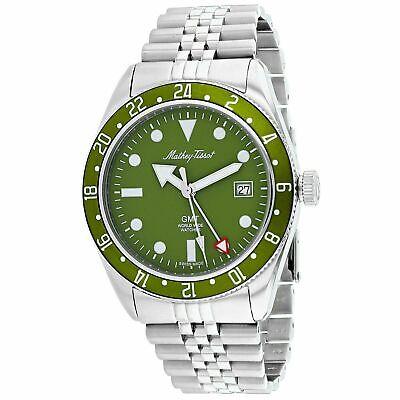 Mathey-Tissot H902AV Rolly Vintage 42MM Men's Stainless Steel Watch