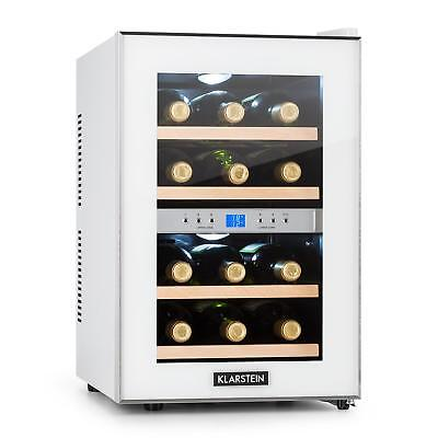 [B-Stock] Wine Cooler Fridge Refrigerator Drinks Chiller 12 Bottles 34 L LCD B
