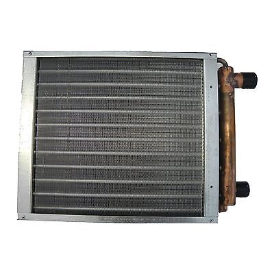 Outdoor Wood Furnace Boiler 20X25 Water to Air Heat Exchanger FREE FIN COMB N/C