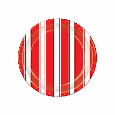 Red White Stripes Carnival Circus Theme Birthday Party 7