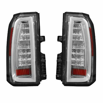 RECON 264277CL Chevy Tahoe and Suburban 15-17 Clear Lens Tail Lights (Chevy Suburban Recon Led)