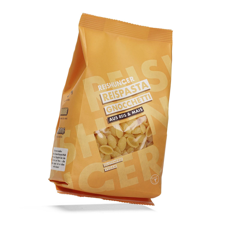 Reishunger Reispasta, Gnocchetti Mais Reis (12x400g) - Glutenfreie Nudeln