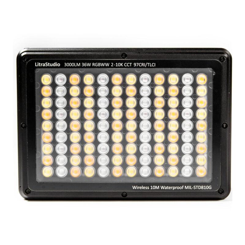 LitraStudio RGBWW Professional LED Studio Light (Black)