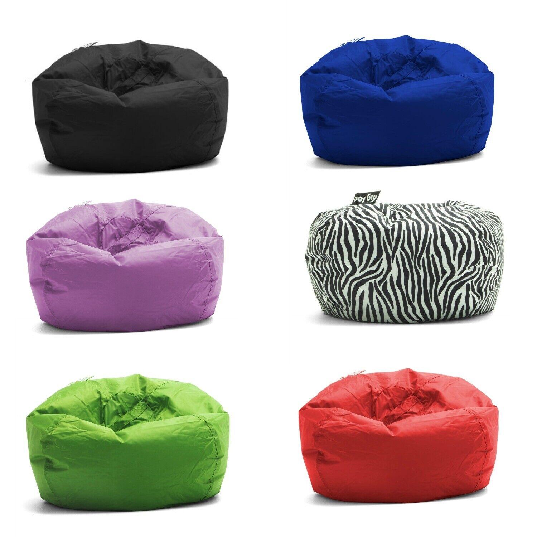 Big Joe Round Bean Bag Chair Multiple Colors Teens Kids Unis