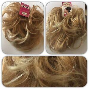 Top Hair Scrunchie BLONDE MIX Large Scrunchie, for Updo Bun or Ponytail