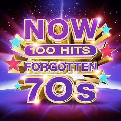 NOW 100 Hits Forgotten 70s ~ 5CD ~ New ~ Box Set ~ 2019