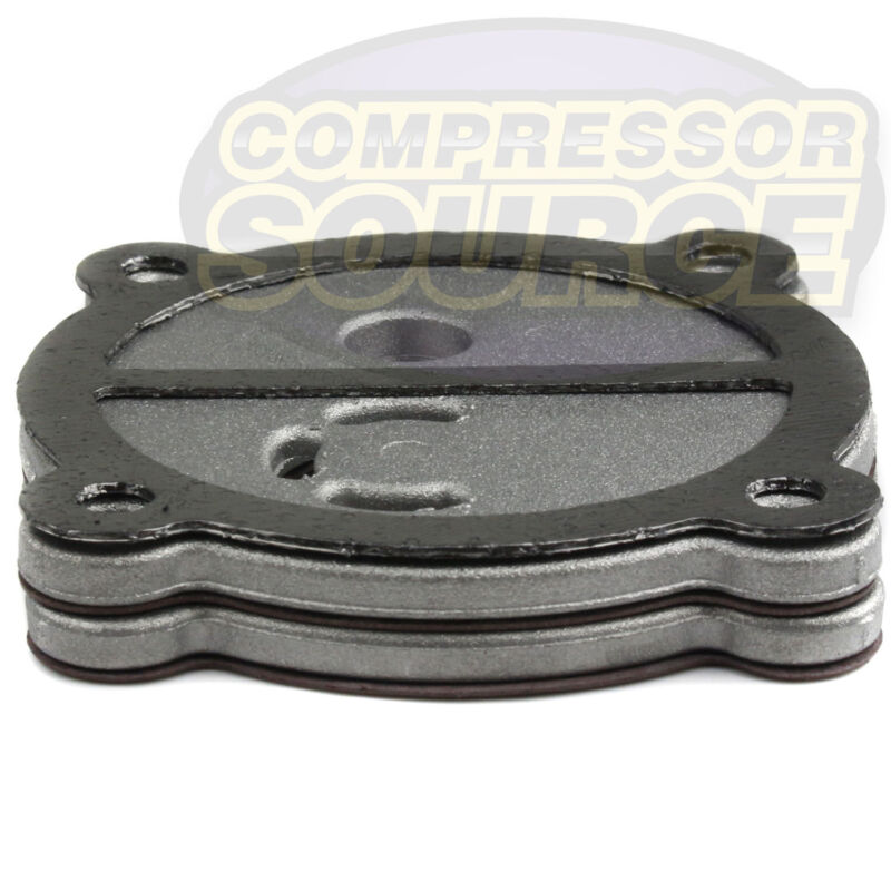 Puma Air Compressor Head Reed Valve Plate Assembly With Gaskets Inlet Exhaust