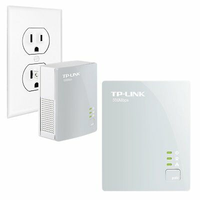 TP-LINK TL-PA4010KIT 500Mbps Nano Powerline Ethernet Adapter Pair Starter Kit