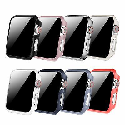 8 Color Pack For iWatch Apple Watch Series 4 3 2 1 Case Bumper Cover 40mm 38mm