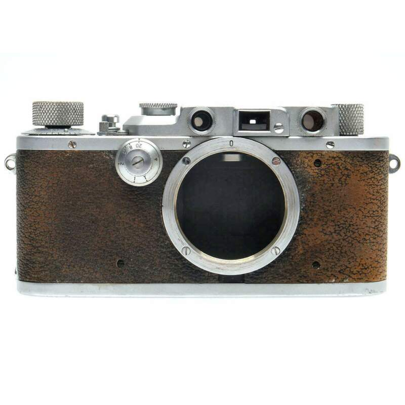 Leica IIIa Film Rangefinder Camera Body (Chrome) 268048
