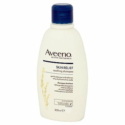 Aveeno Skin Relief Soothing Shampoo 300 ml, fragrance free