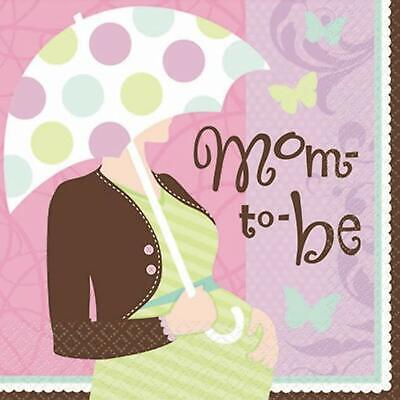 - Great Expectations Mother to Be Mom Baby Shower Party Paper Beverage Napkins