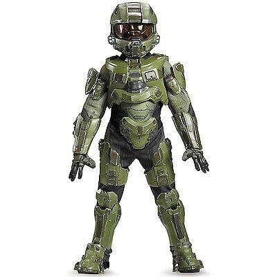 Master Chief Ultra Prestige Microsoft HALO Boys Child Costume | Disguise 97551 - Kids Halo Costumes