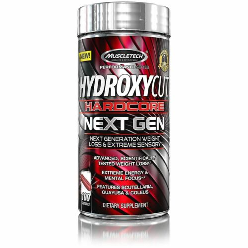 Muscletech Hydroxycut Hardcore Next Gen Fat Burner 100 ct.