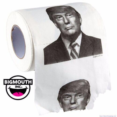 BigMouth Inc - President Donald Trump Toilet Paper Roll ~ Gag Gift Prank Joke