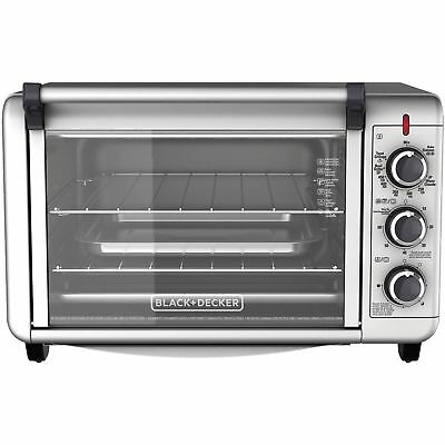 6-Slice Convection Countertop Toaster Oven Sweet TO3000G BLACK+DECKER BRAND NEW
