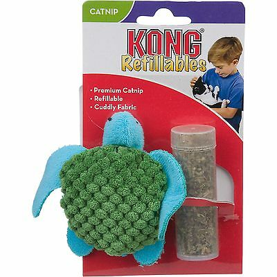 Kong Refillable Catnip Toy - Kong Refillable Catnip Turtle(Free Shipping in USA)