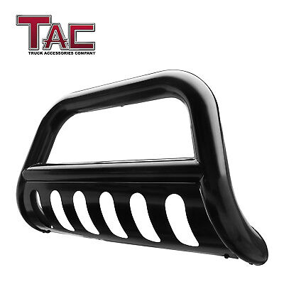 "3"" Black Bull Bar for 05-19 Nissan Frontier Front Bumper Push Brush Grill Guard"