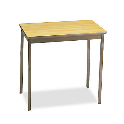 Barricks Utility Table Rectangular 30w X 18d X 30h Oakbrown Ut183030lq
