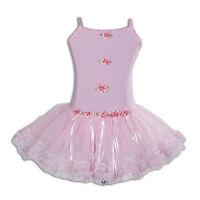 Rosa Para Niña Vestido Tutú Ballet 7-8 Años -  - ebay.es