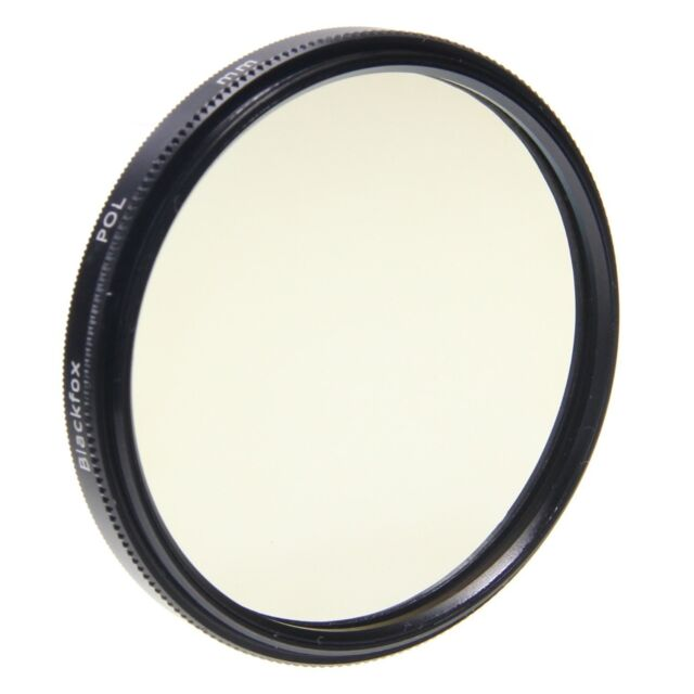 BlackFox Pol Filter circular 77 mm 12x coated MC-Glass Slim metal version