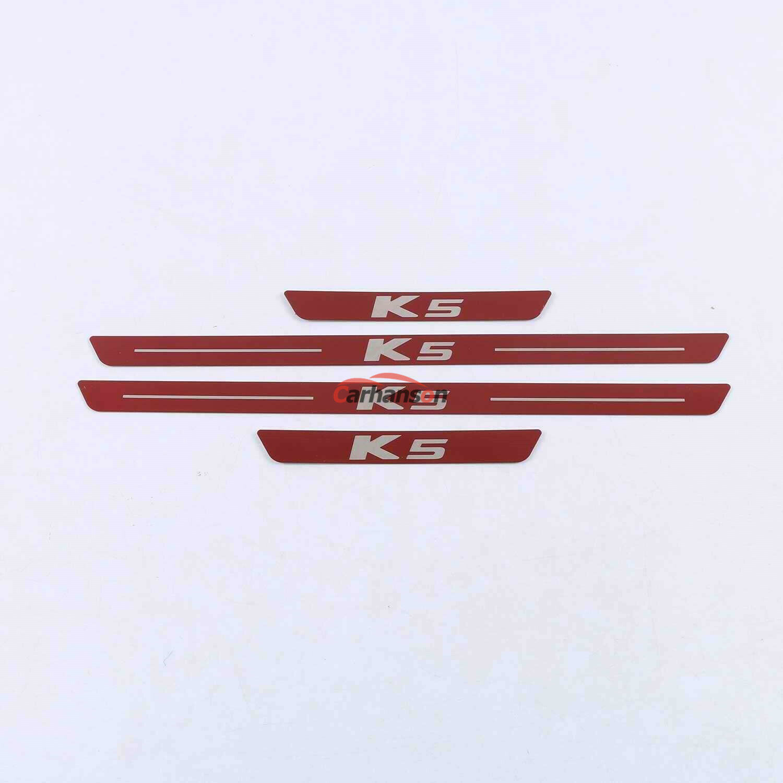 Car Parts - Auto Parts For Kia k5 2021 Car Accessories Door Sill Protector Scuff Plate Guard
