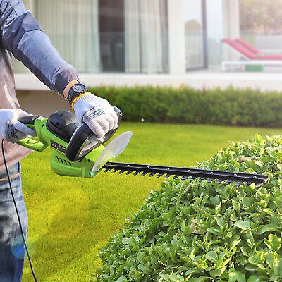 Electric Garden Gear Cordless Hedge Trimmer Cutter 510mm No Battery Powered