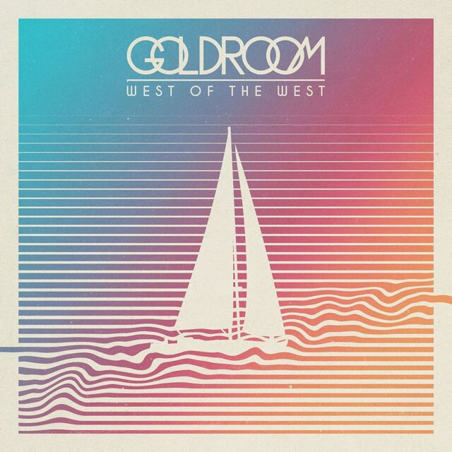 GOLDROOM WEST OF THE WEST CD ALBUM (September 23rd 2016)
