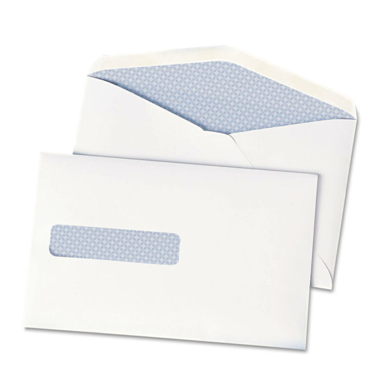 Quality Park Window Postage Saving Envelope 28lb. White 500/Pack 90063