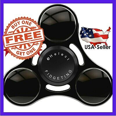 HelectFidget Hand Spinner Toy High Speed Stainless Steel