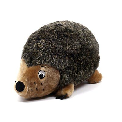 Outward Hound Plush Puppies HEDGEHOG Jumbo Dog Toy Brown 16 in
