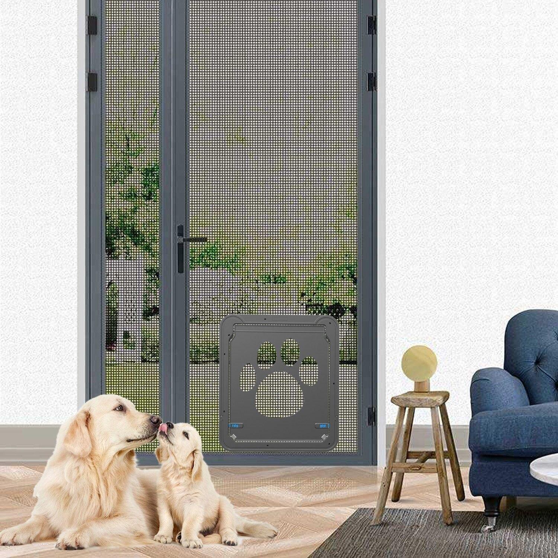 New Pet Screen Door Dog Door For Sliding Door, Sliding Doggy