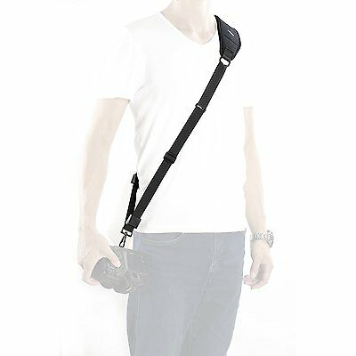 Movo MP-SS4 Rapid Camera Sling Strap with Quick Release Clip & Neoprene Strap