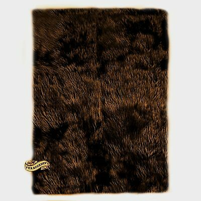 Chocolate Brown Shag Teppich (FUR ACCENTS SALE Large Chocolate Brown Shag Area Rug Carpet Rectangle All Sizes)