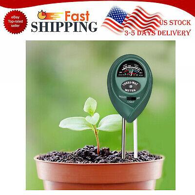 3 in1 PH Tester Soil Water Moisture Light Test Meter Kit for