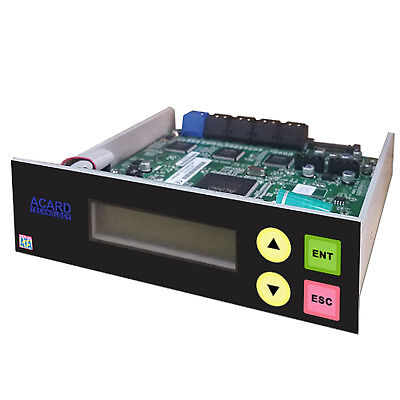 Acard 1 to 11 CD DVD Burner Disc Duplicator Controller + SATA cables