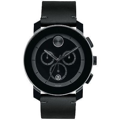 Movado 3600337 Men's Bold Black Quartz Watch