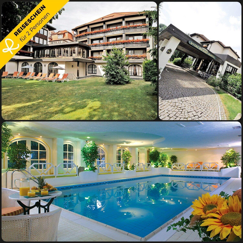 3 Tage 2P HP 4★ Hotel Harz Wellness Hotelgutschein Luxus Kurzurlaub Reiseschein