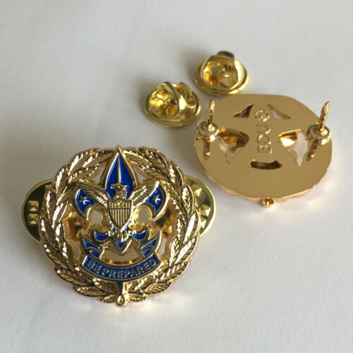 Scout Unit Commissioner Badge, One Pair (2) (Service Badge Scouter Boy Pin)