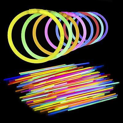 authentic 8 inch glow sticks bendable glow