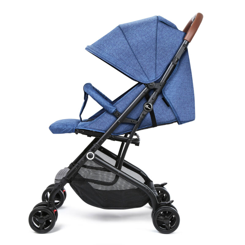 Baby Umbrella Stroller Lightweight Stroller Travel Foldable Design w/ Oxford Can