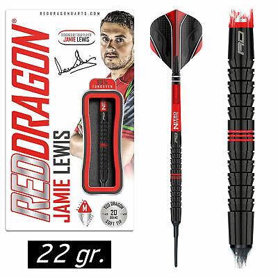 REDDRAGON Soft Dart Darts Pfeile Softdarts Jamie Lewis - The Fireball 2017 22 gr