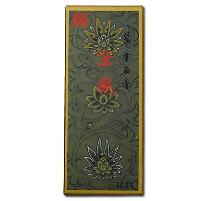 Temple Incense Jing Kwan (Clear Gaze) Oriental Incense Large 120 Stick Box